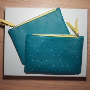 *3/$14 or 5/$20*!  Turquoise makeup bag (Ipsy)